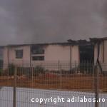 incendiu fabrica de ciocolata Beius 7
