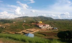 case pe dealuri in Madagascar