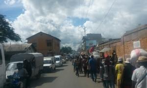 oameni si masini Antananarivo Madagascar
