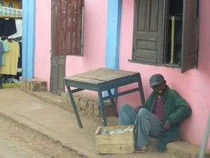barbat pe bordura Antananarivo Madagascar