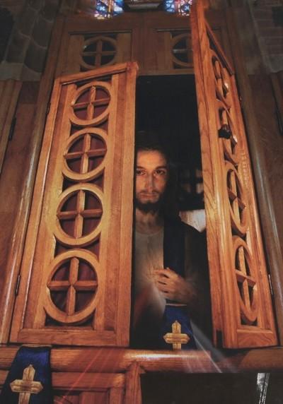 È Gesù nel confessionale!