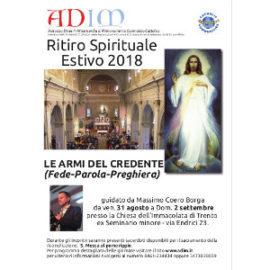ritito spirituale estivo 2018