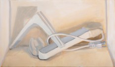 Evan Peebles, White Painting Assignment, Intro to Painting, MassArt, 2011