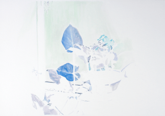 Freelancing, watercolor on paper, 12.5″ x 17.75″, 2013