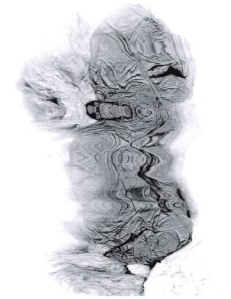 "Untitled, photocopy, 11"" x 8.5"", 2017"