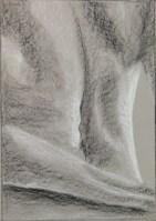 K. Foster, Figure Composition, Drawing Fundamentals, MassArt Summer Intensives, 2013