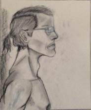 S. Fallon, Head Drawing, Drawing Fundamentals, MassArt Summer Intensives, 2013
