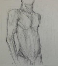 F. Collins, Quick Figure Drawing, Drawing Fundamentals, MassArt Summer Intensives, 2013