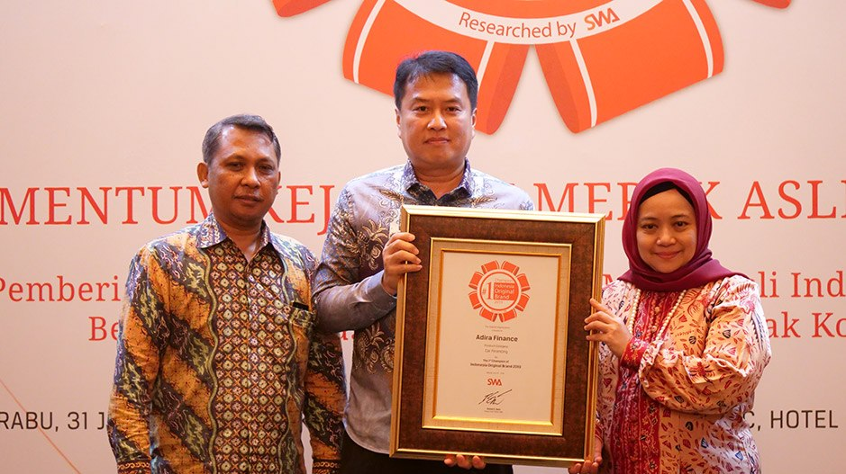 Adira Finance Kembali Puncaki Indonesia Original Brand Award 2019