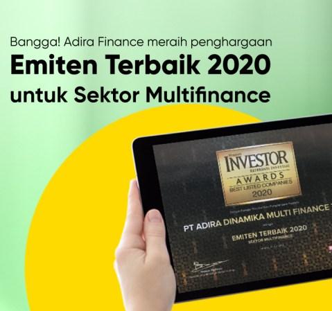 (Indonesia) Adira Finance Terbaik di Multifinance