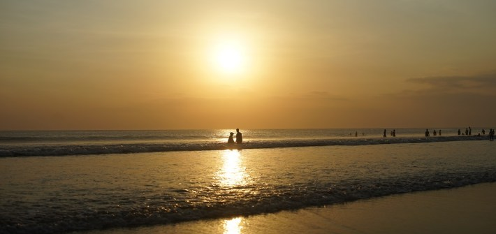 Sunset Kuta Couple