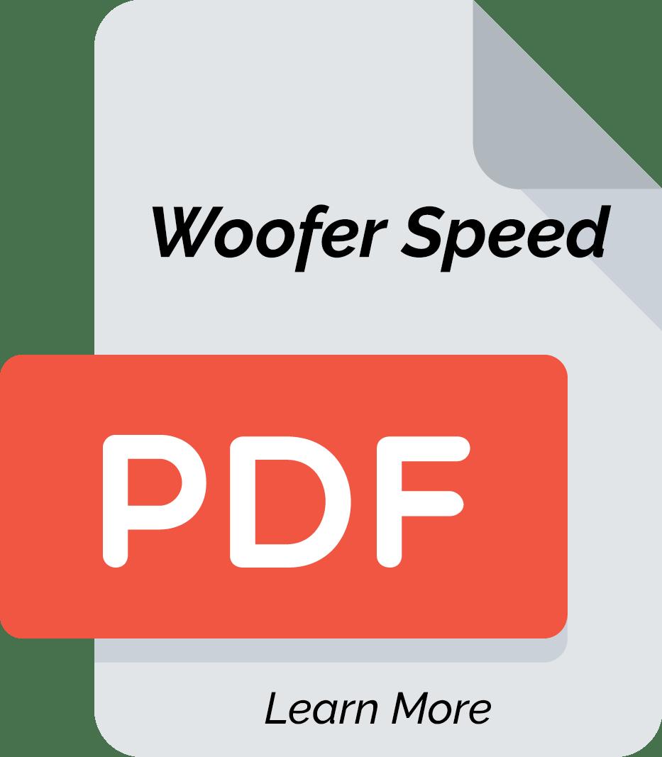 Woofer Speed