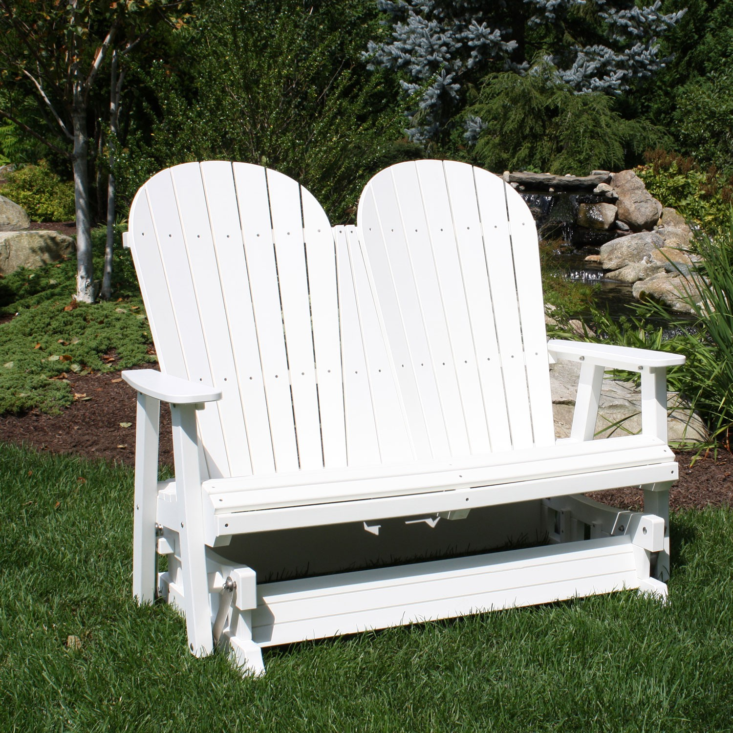 double adirondack chairs with umbrella club chair images malibu outdoor jamestown glider