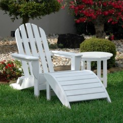 Adirondack Chair With Ottoman Plans Two Table Classic And Side