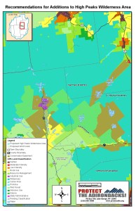 Protect Boreas Ponds map