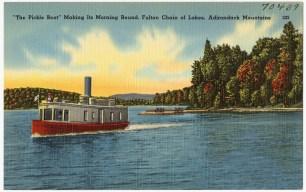 Fulton Chain Mail Boat