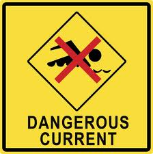 Swimming Dangerous Current