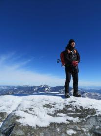 Neil Luckhurst on Dix Mt.