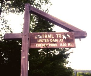 Access Road to Cheney Pond