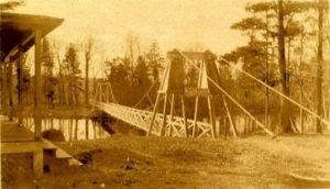 Wanakena Foot Bridge c 1903