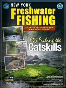 NYS Freshwater Fishing Guide 2013-2014