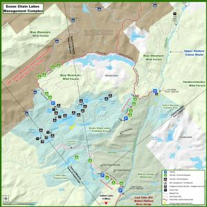 Essex Chain Lakes Complex Map Dec 2014