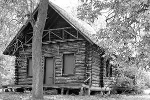 Pell playhouse at the Pavilion near Fort Ticonderoga