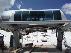 West Mountain Triple Chair lift in vermont a