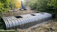 An Innovative Culvert Replacement At Otis Brook In Jay