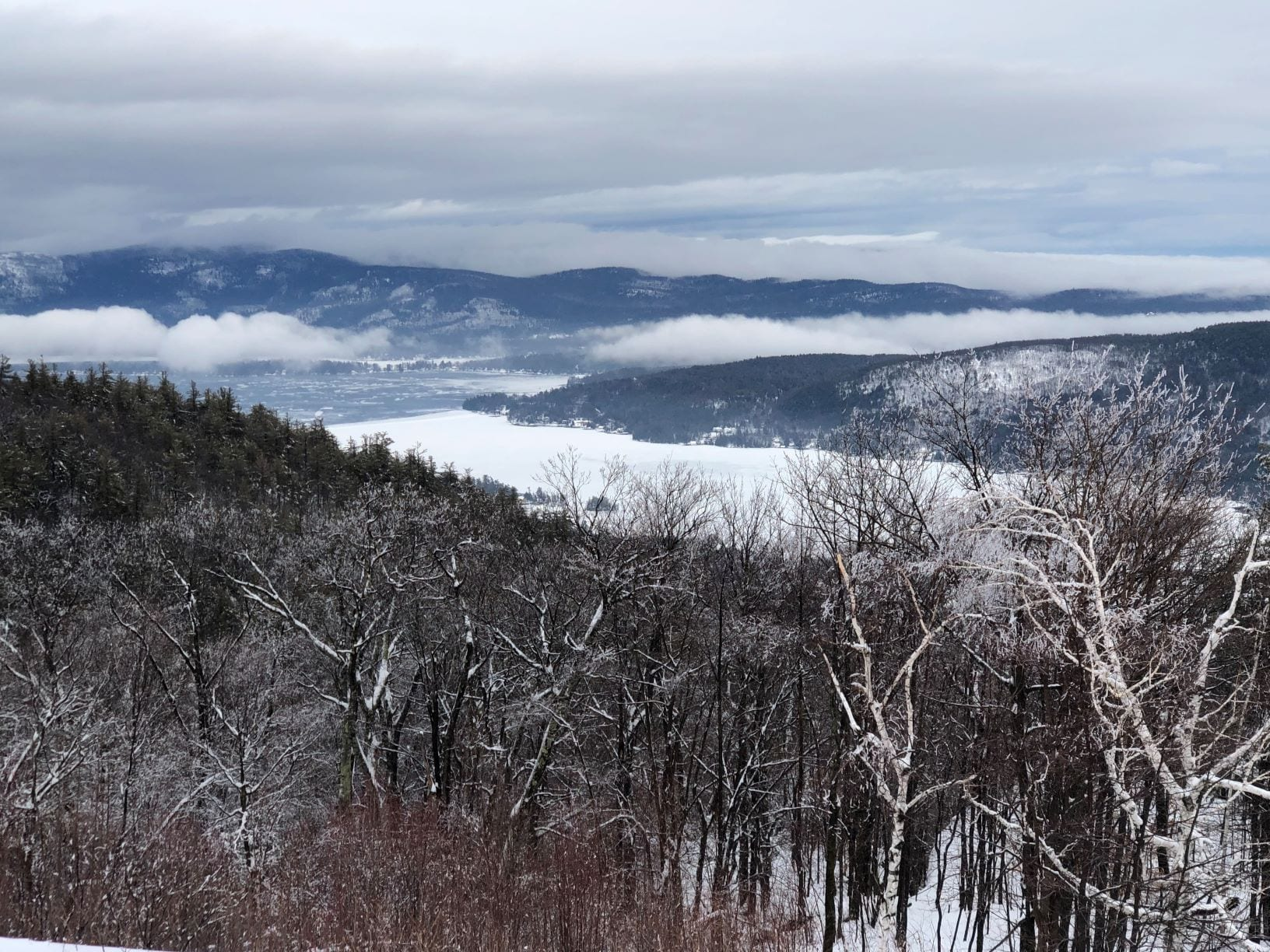 Prospect mountain is one of the most popular hikes in the lake george region at roughly three miles round trip. Prospect Mountain Highway Leads Skiers To The Peak Adirondack Explorer