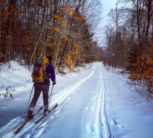 Gulf Brook Road cross country ski