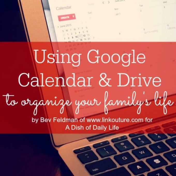 Use Google Calendar and Google Drive to Organize Your Life - A Dish