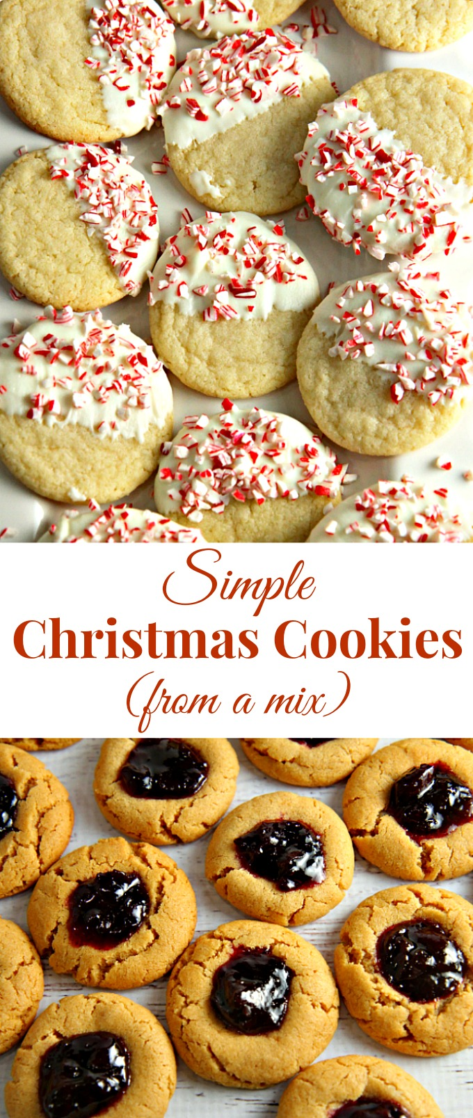 Simple Christmas Cookies From A Mix A Dish Of Daily Life