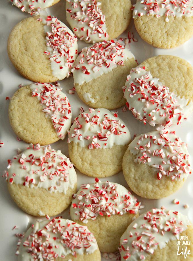 White Chocolate Peppermint Sugar Cookies Pb J Thumbprint Cookies