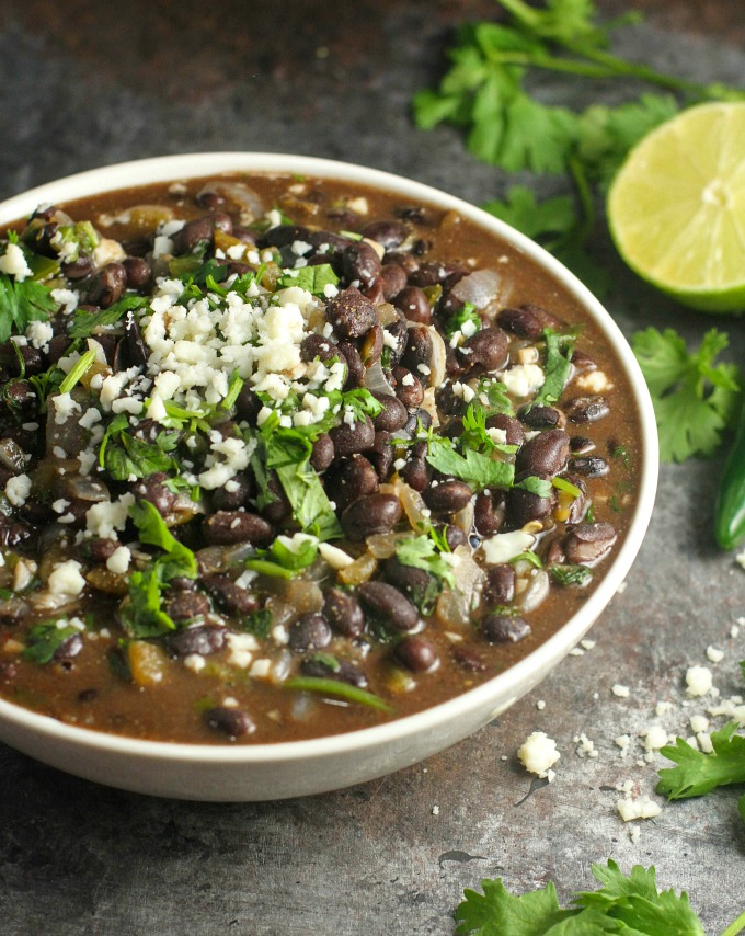 Mexican Black Beans Recipe A Dish Of Daily Life