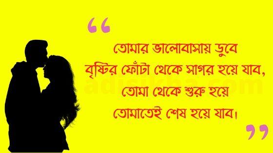 Bengali love quotes picture