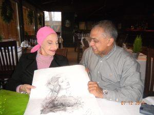 Alicia Alonso Cuba with Aditya Jha
