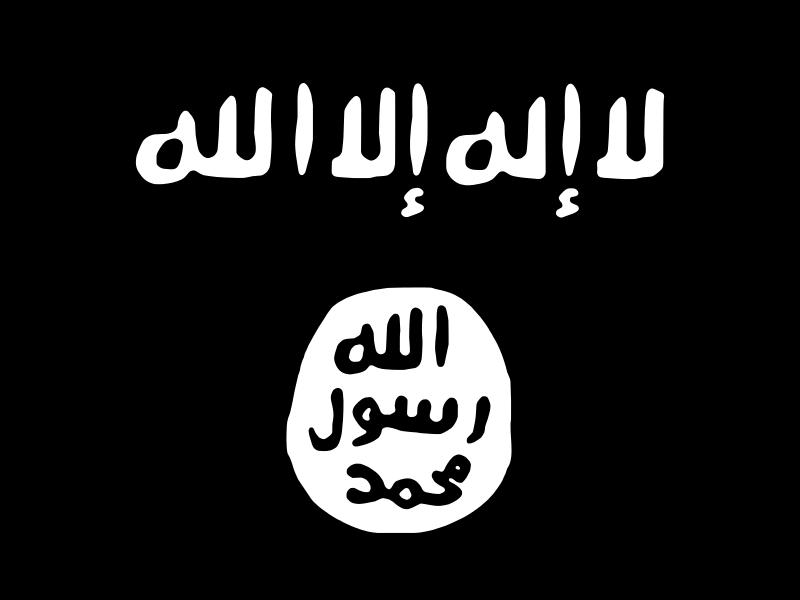 Black flag of ISIS