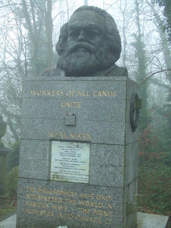 Tomb of Karl Marx