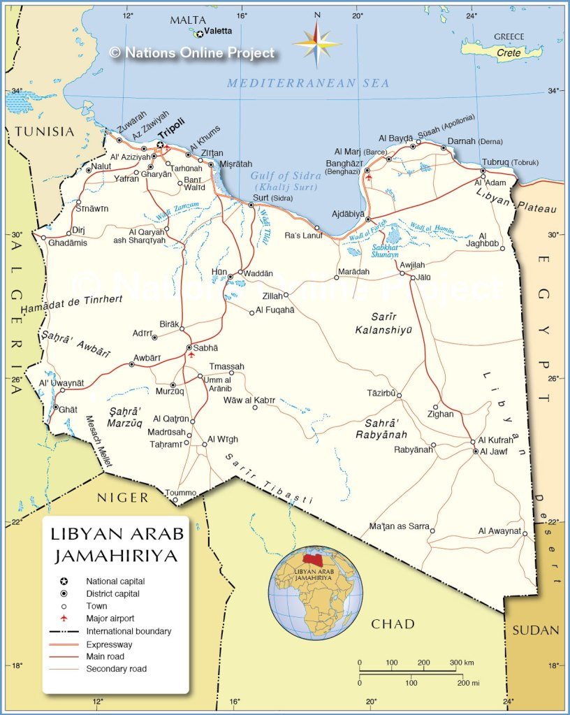 Libya Becoming Part of the ISIS Caliphate