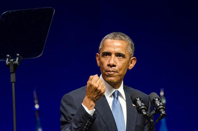 Barack Obama in Nordea Concert Hall, Estonia, September 3, 2014