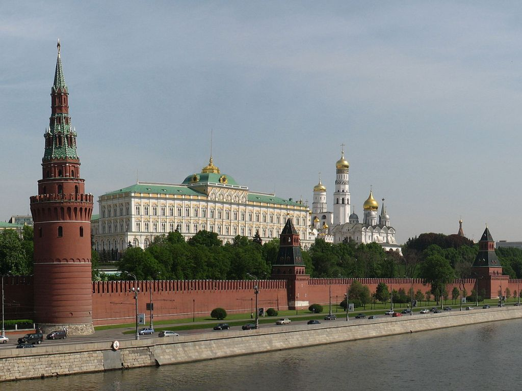 Moscow Kremlin, the working residence of the President of Russia