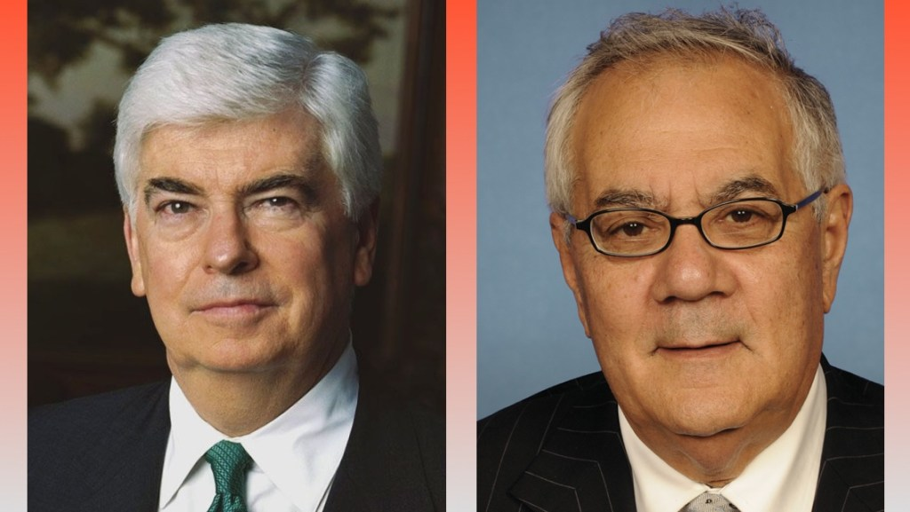 Sen. Chris Dodd (D-CT) and Rep. Barney Frank (D-MA)