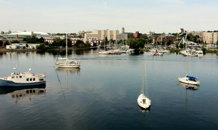 Up the mast…