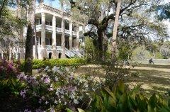 "The ""Castle"" in Beaufort - an antibellum home with a lovely garden"