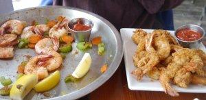 Lowcountry shrimp - two ways!