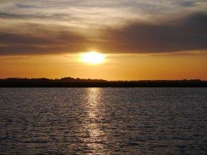 Sunset, Fenwick Cut