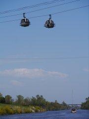 Golf course cablecare overhead