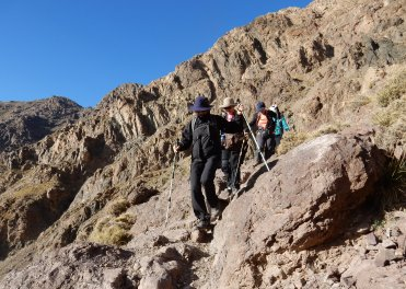 High Atlas trekking