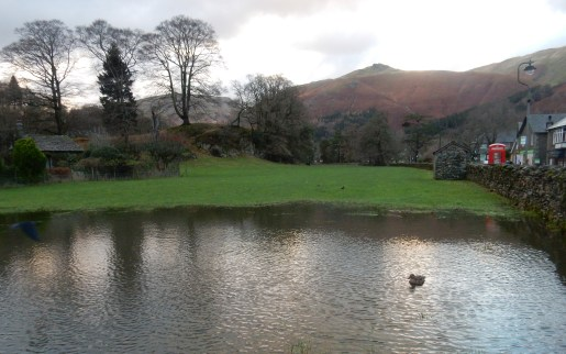 Unintentional lake in Grasmere!